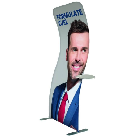 formulate curl banner stand