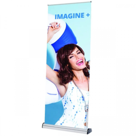 imagine plus banner stand