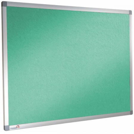 Sundeala colour pinboard in Green
