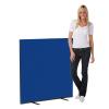 1200 x 1200 woolmix office screen - blue