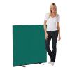 1200 x 1200 woolmix office screen - green