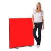 1200 x 1200 woolmix office screen - red