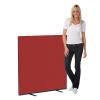 1200 x 1200 woolmix office screen - ruby