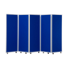 1500mm high 5 panel concertina room divider