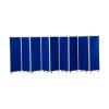 1500mm high 9 panel concertina room divider