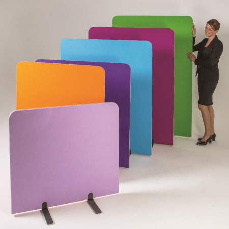 room divider screen with rounded corners