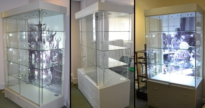 Museum Display Cabinets   Daventry Museum