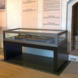 sentinel security museum showcase