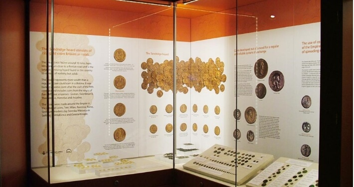 verulamium museum display case