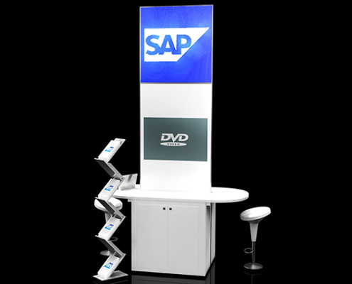 Access Displays Shell Scheme SAP Pod 3