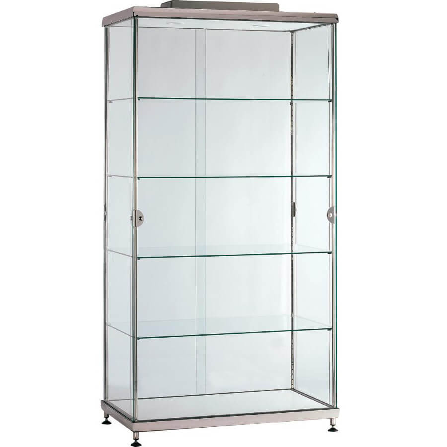 Large Glass Display Case For Hire Ac Access Displays