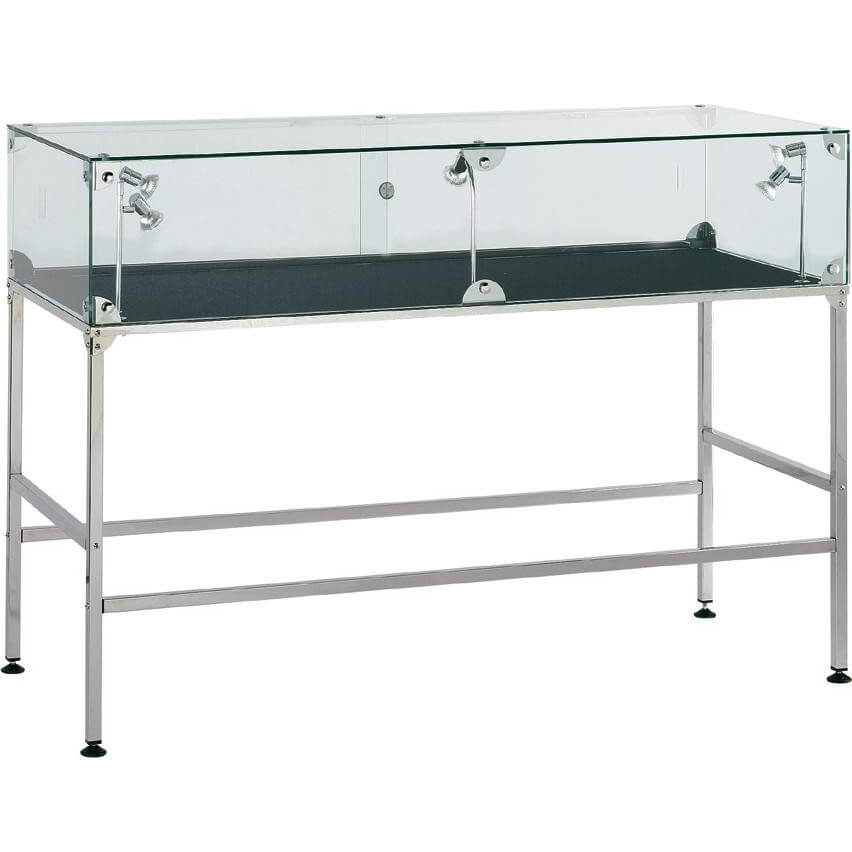 glass showcase and display cabinet hire - access displays