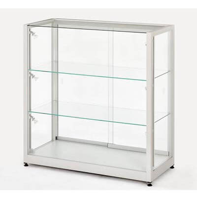 BN glass cabinet for hire