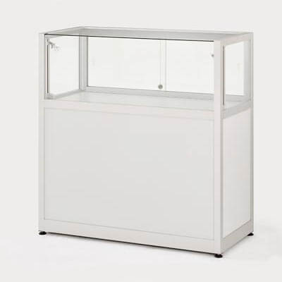 BTCW counter display case hire