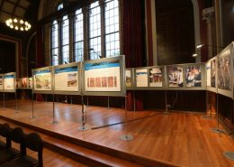 display board hire - dulwich college