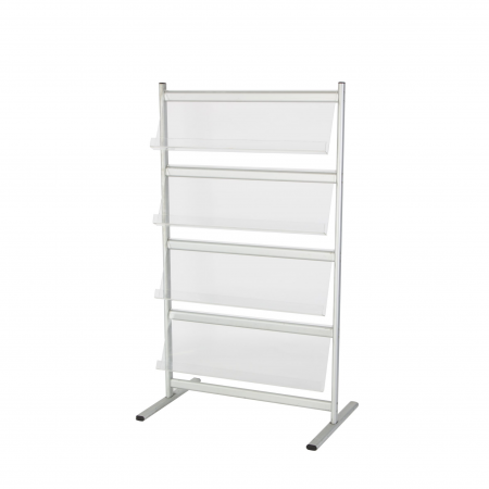 DP46 4 tier literature rack hire