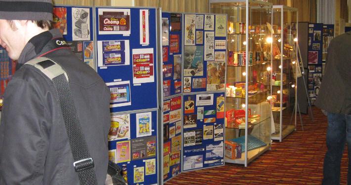 folding display board hire - cadbury