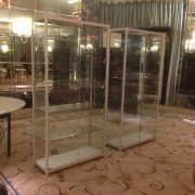 display cases hire