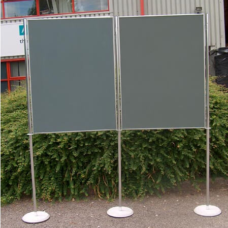hire 2 display boards 1200x900