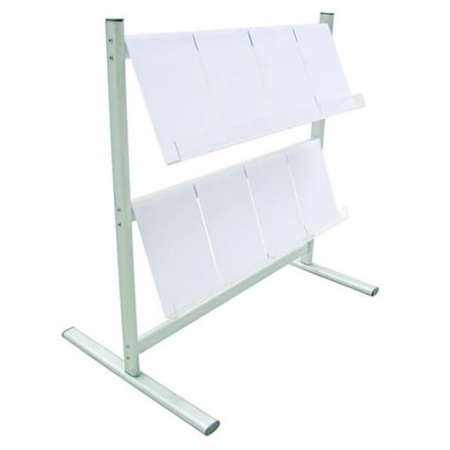 hire 2 tier brochure rack