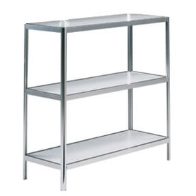 hire 3 tier display shelf