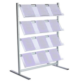 hire 4 tier brochure rack