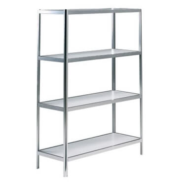 hire 4 tier display shelf