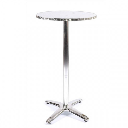 hire aluminium bar table