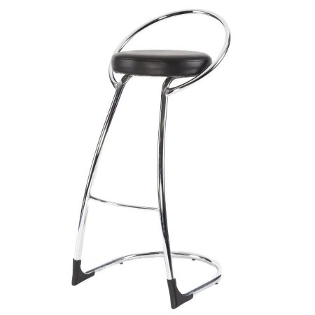 Hire Delta bar stool in Black