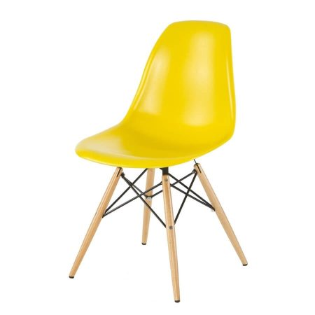 Hire DSW chair in Yellow