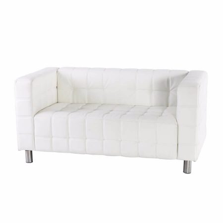 Hire Kubus 2 seater sofa in White