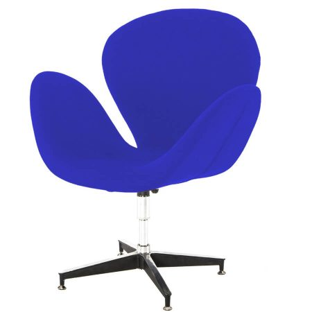 Hire Swan chair in Blue
