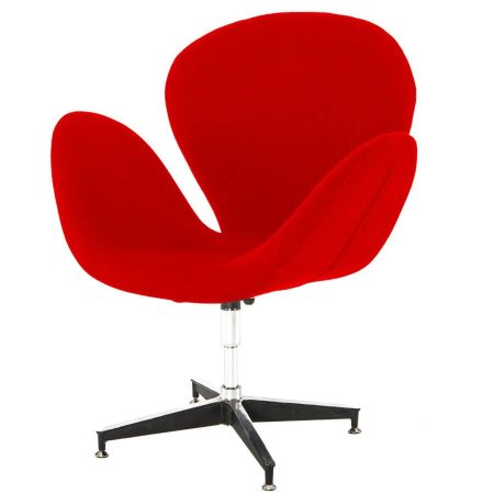 Hire Swan chair in Red