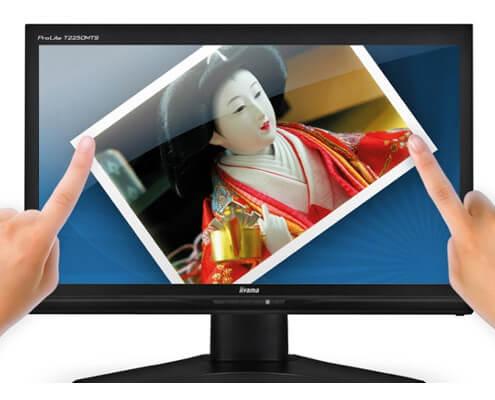 iiyama 21.5 inch touchscreen lcd hire