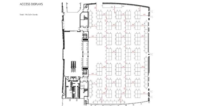 shell scheme hall plan example 7