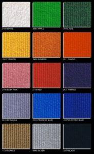 solar cord - shell scheme carpet options