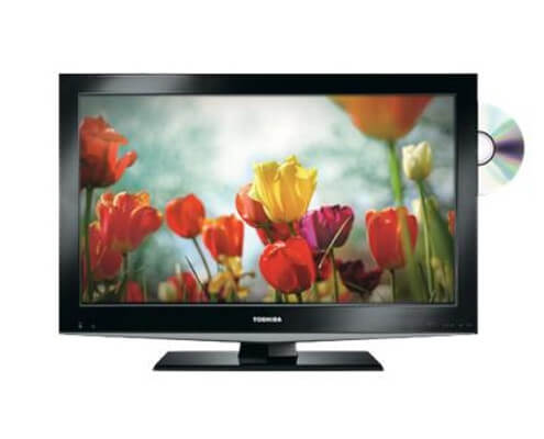 toshiba 32 inch lcd screen hire with dvd player