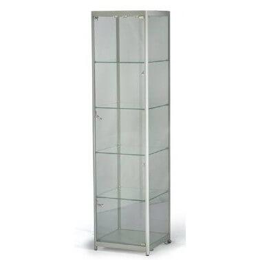ts32 tallboy glass display case hire