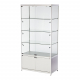 TS33 freestanding display case hire