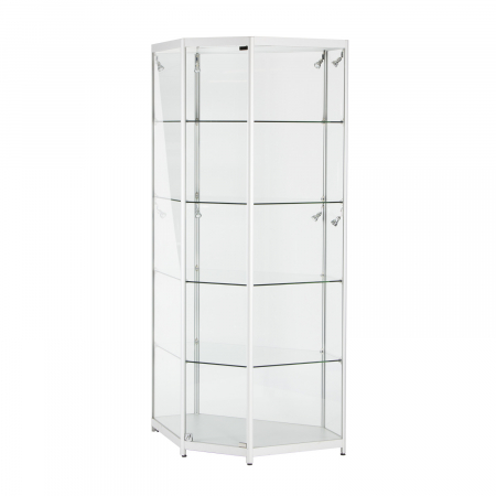 TS36 corner display cabinet hire