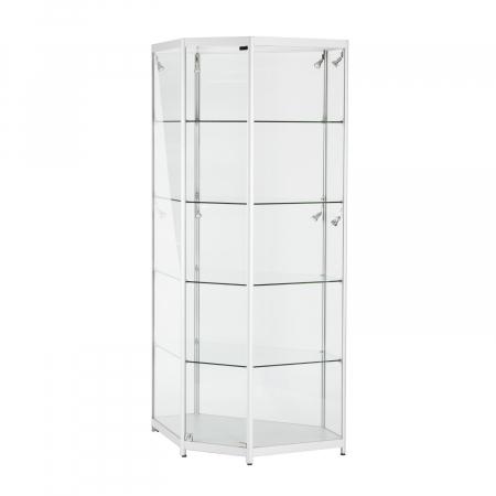 TS36 corner display cabinet hire