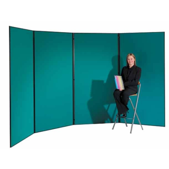 4 Panel Large Display Boards Hinged Display Boards