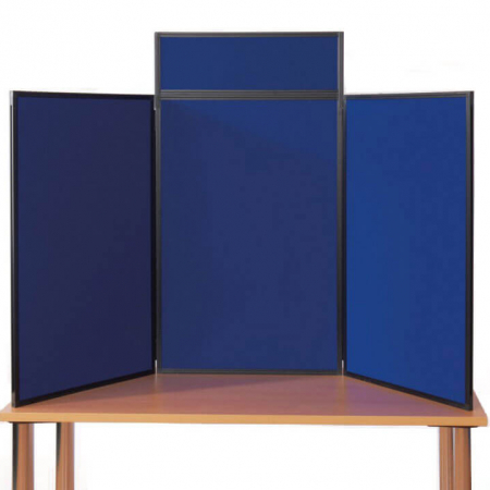 portrait table top display boards