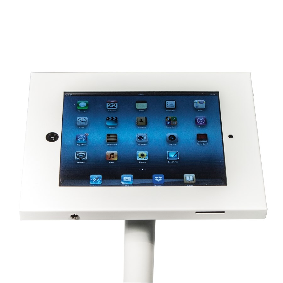 Ipad Exhibition Stand Hire : Freestanding ipad holder for air and