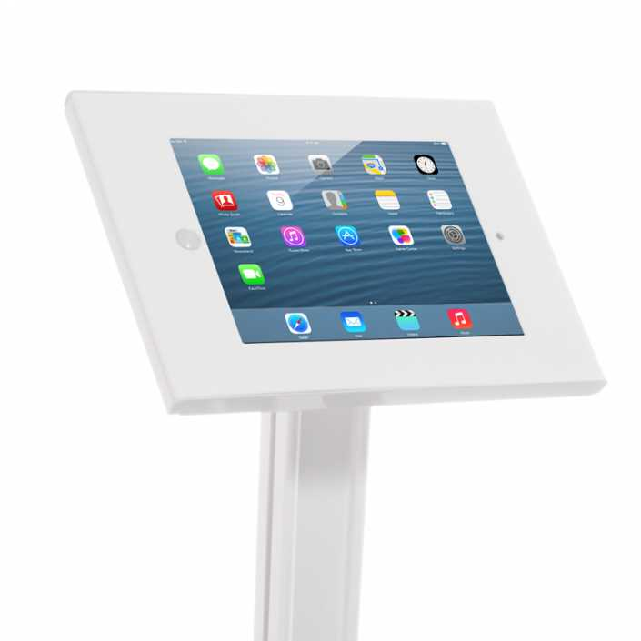 Ipad Exhibition Stand Hire : Secure ipad display stand closeup access displays