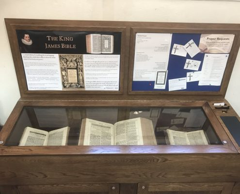 Completed showcase with bible - 3