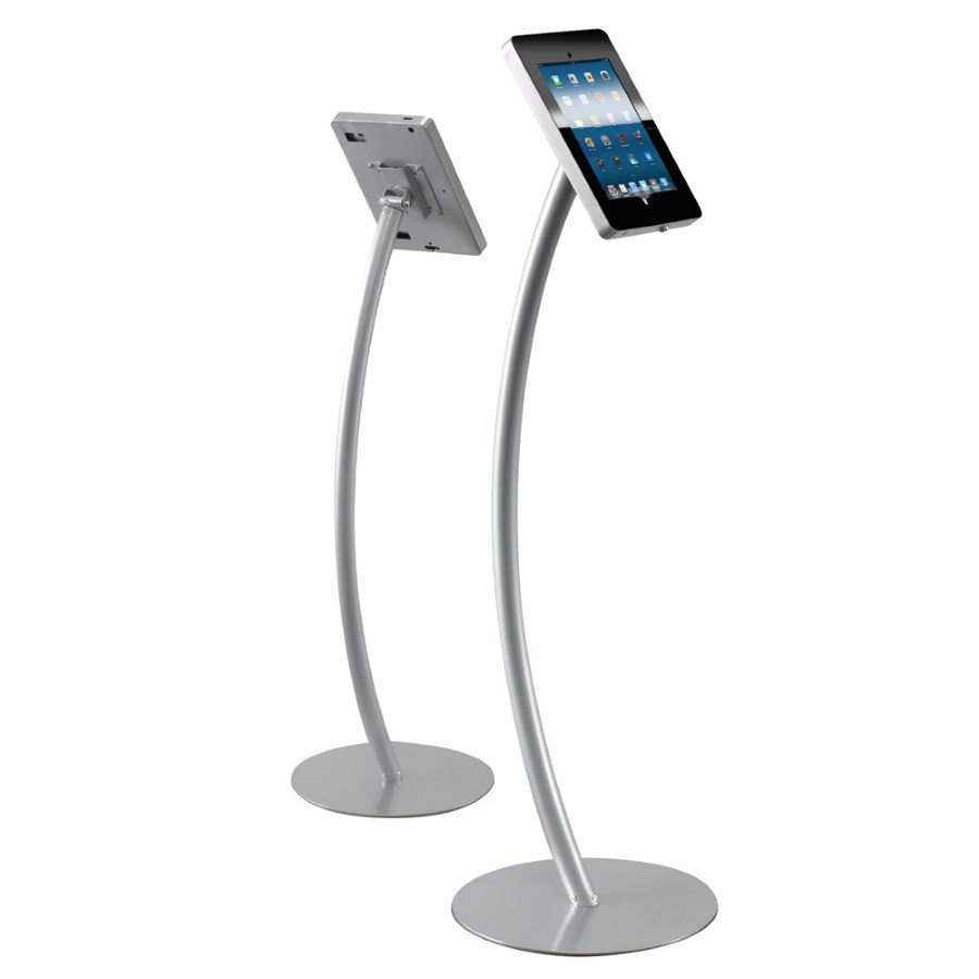 Ipad Exhibition Stand Hire : Ipad curve display stand for air and pro