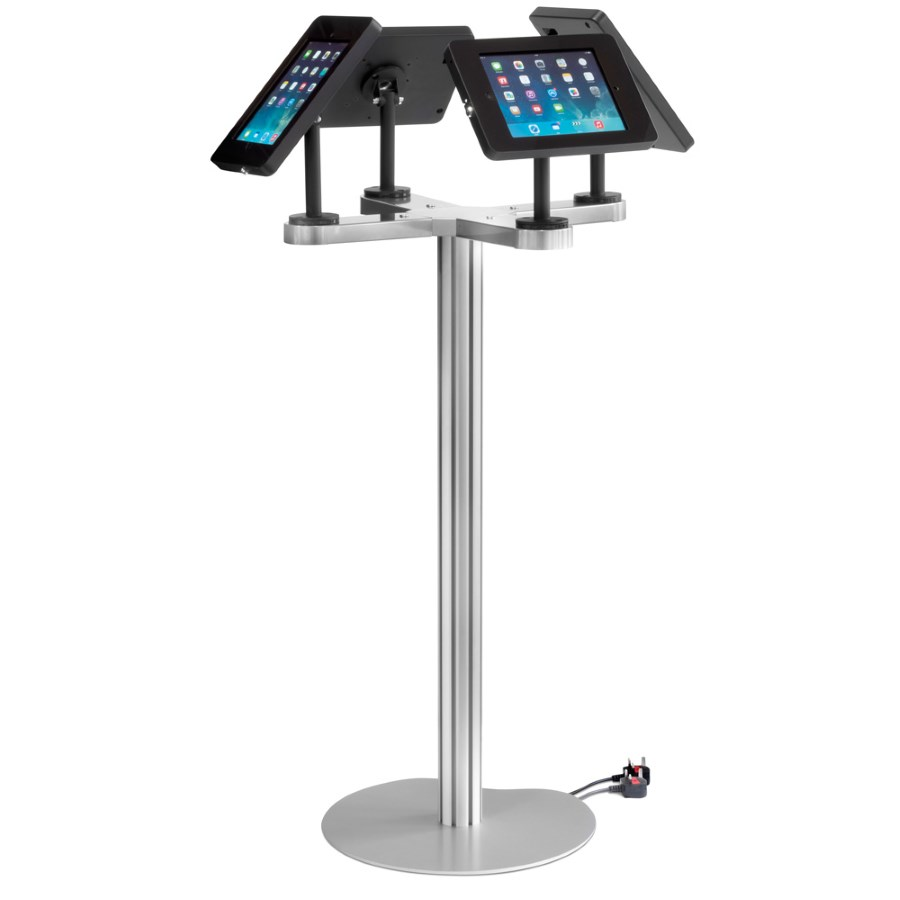 Exhibition Stand With Monitor : Ipad quad display stand access displays