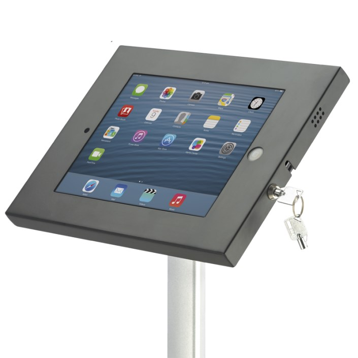 Ipad Exhibition Stand Hire : Telescopic ipad display stand adjustable