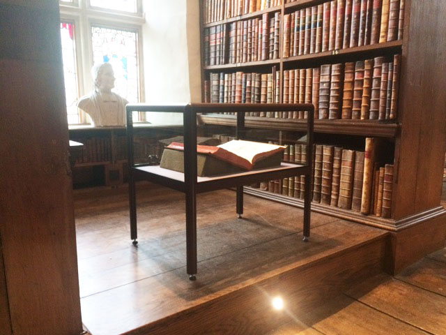 Trinity College Oxford Case Study Access Displays